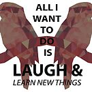 Kookaburra geometric motto inverted by Muffinface