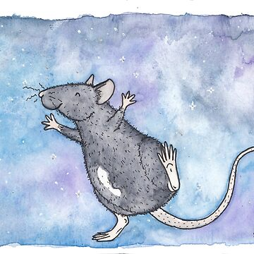 Astrid The Star Rat by sillybadger
