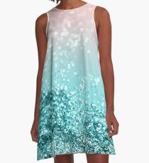 Tropical Summer Vibes Glitter #2 #decor #art A-Line Dress