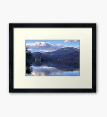 View from Lake Tahoma Framed Print