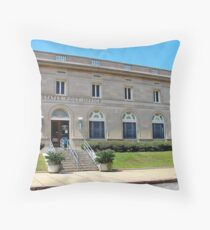 U. S. Post Office Cordele Georgia Throw Pillow