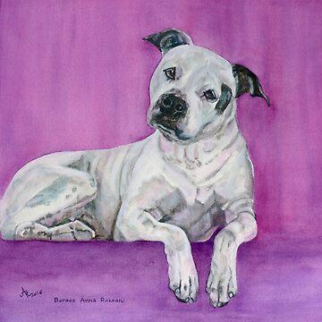 Portrait of Maddie Puppy  by BAR-ART