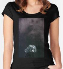 Little Sips (A Portrait of Drew Barrymore) Women's Fitted Scoop T-Shirt