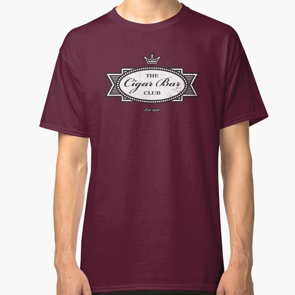 The Cigar Bar Club Classic T-Shirt