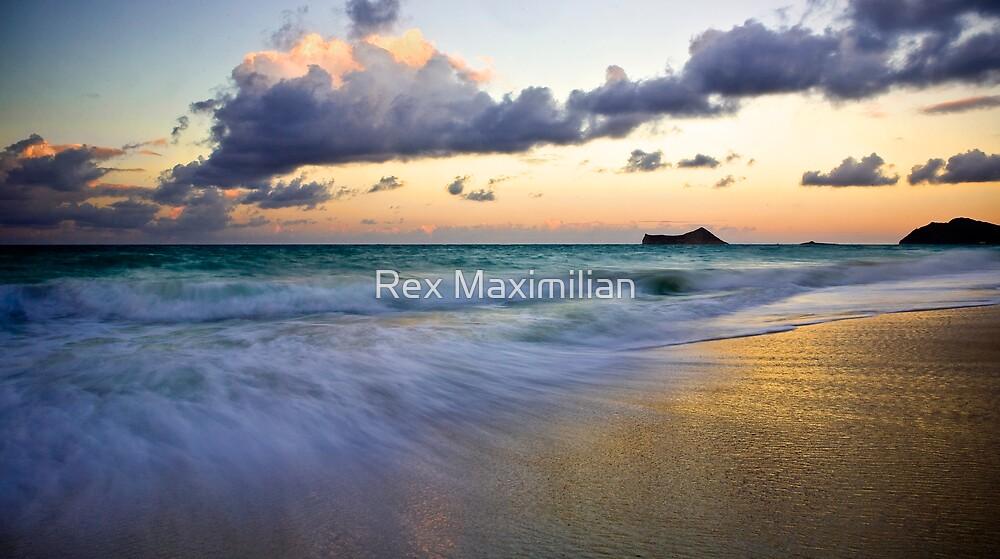 Waimanalo Beach Sunset by Rex Maximilian