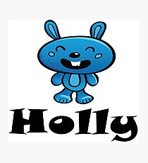 Holly Name / Inspired by The Color of Money Photographic Print