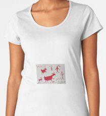 Sinagua Pictographs Women's Premium T-Shirt