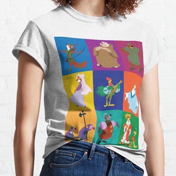 Robin Hood characters Classic T-Shirt