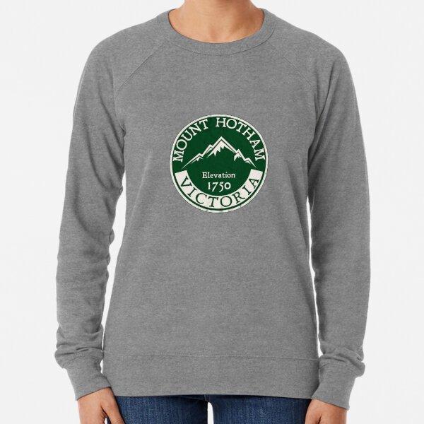 Ski Mount Hotham Victoria Australia Skiing Snowboard Mt Lightweight Sweatshirt