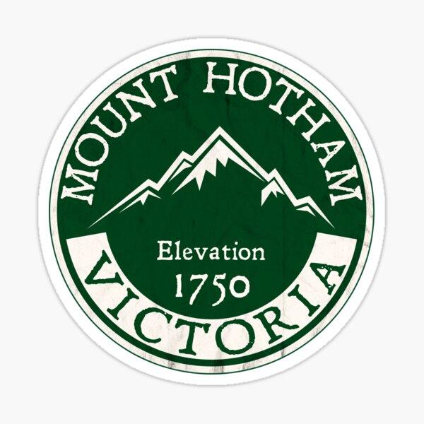 Ski Mount Hotham Victoria Australia Skiing Snowboard Mt Sticker