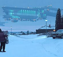 Closing The Loop by Simon Stålenhag