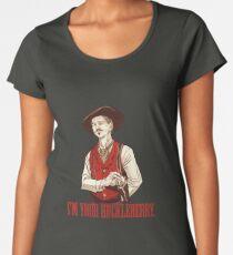 Doc Holliday - I'm your Huckleberry  Premium Scoop T-Shirt