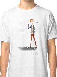 Micah - White Text Classic T-Shirt