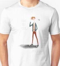 Micah - White Text Unisex T-Shirt