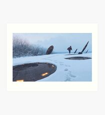 Warm Hatches, Opening Up Art Print