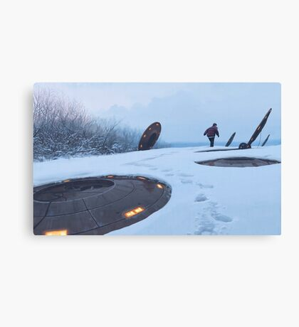 Warm Hatches, Opening Up Canvas Print