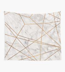 Tela decorativa Golden Poly Marble