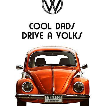 Cool dads drive volks VW by benbdprod
