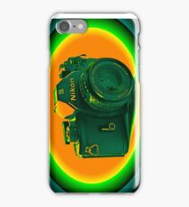 Nikon EM SLR Camera iPhone Case/Skin