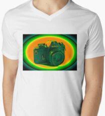 Nikon EM SLR Camera Men's V-Neck T-Shirt