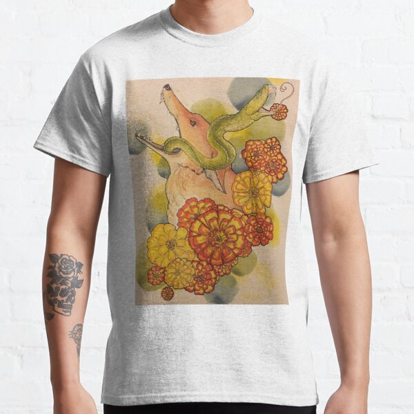 Coyote and Snake Classic T-Shirt
