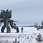 Unlock. Explore. Repeat. by Simon Stålenhag