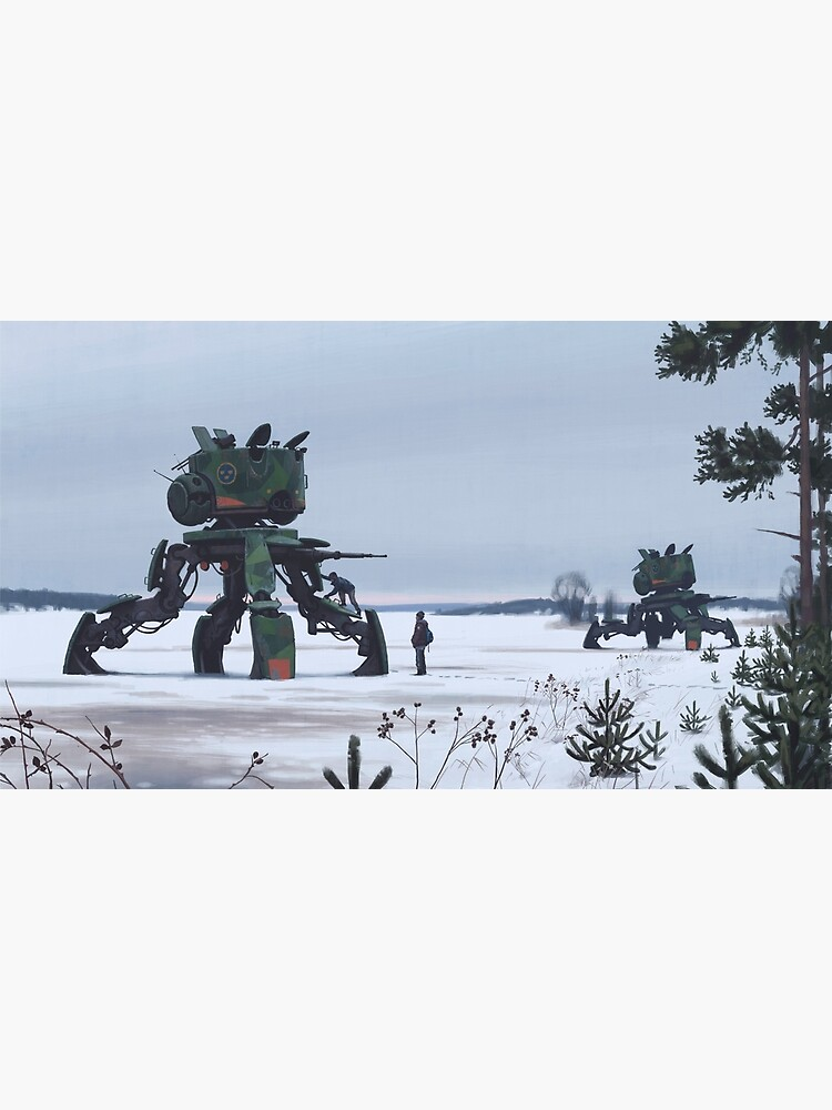 Unlock. Explore. Repeat. by simonstalenhag