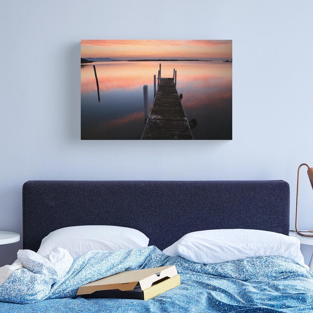 A new day dawns, Mallacoota, Australia Canvas Print