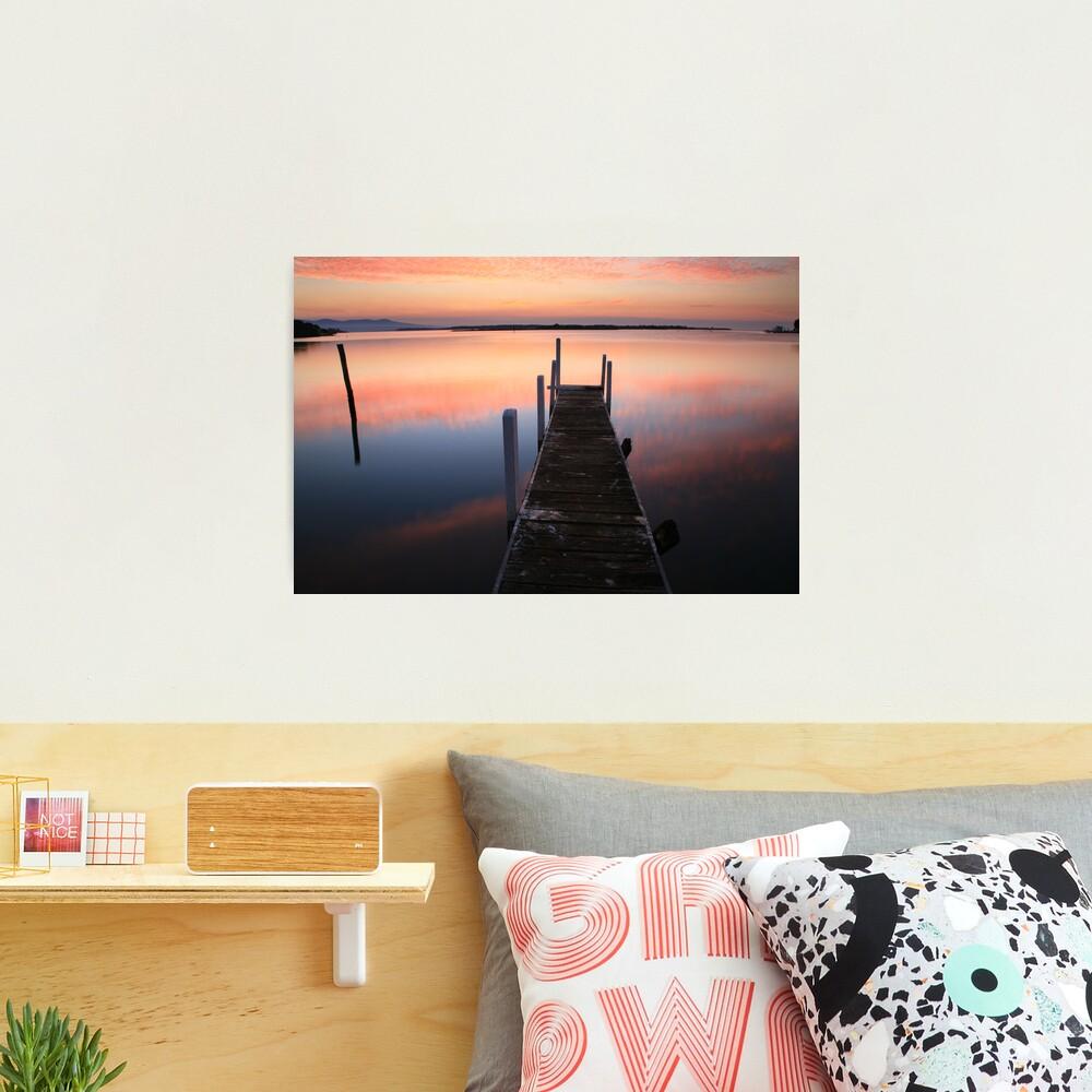 A new day dawns, Mallacoota, Australia Photographic Print