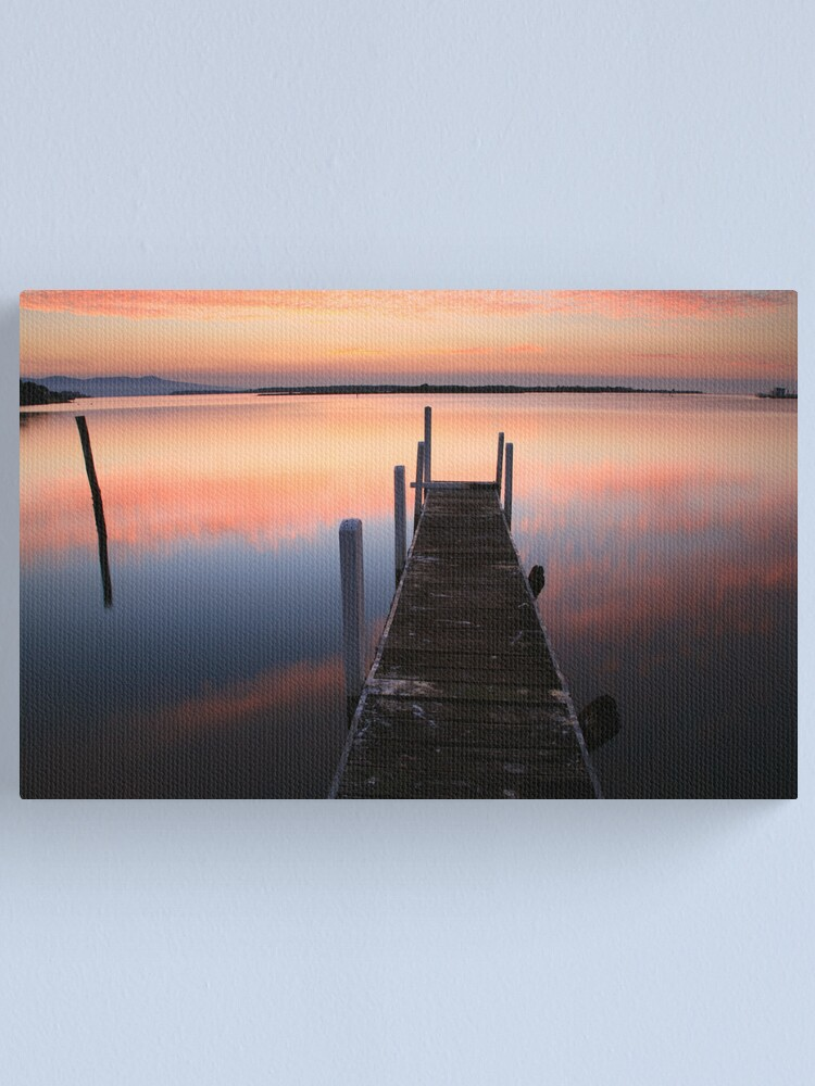 Alternate view of A new day dawns, Mallacoota, Australia Canvas Print