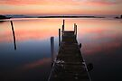 A new day dawns, Mallacoota, Australia by Michael Boniwell