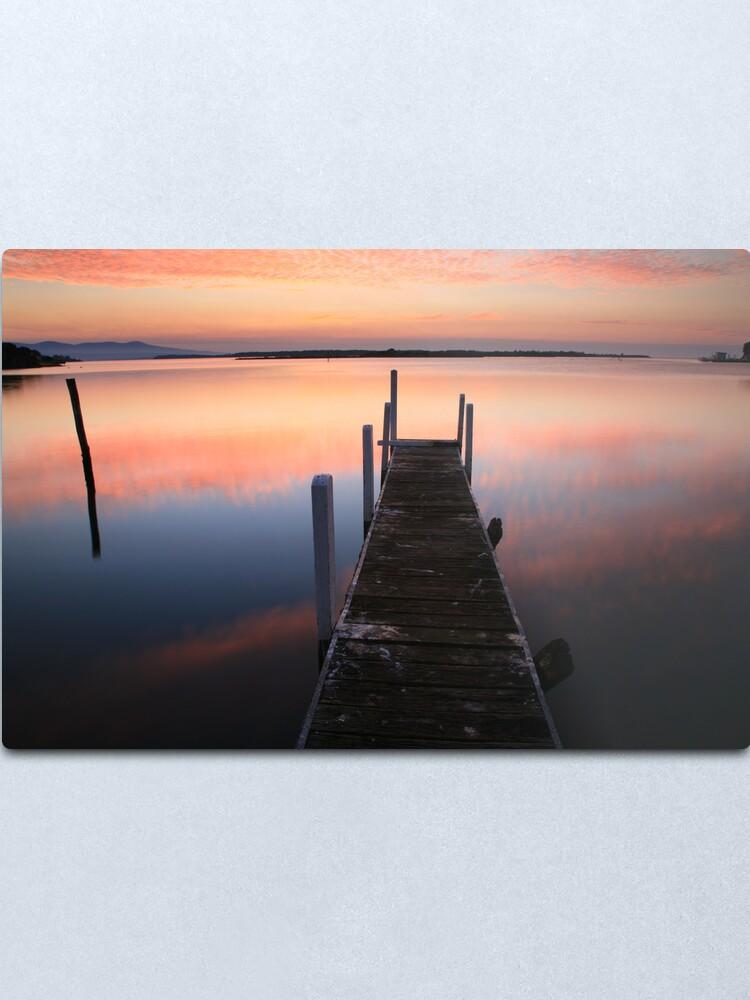 Alternate view of A new day dawns, Mallacoota, Australia Metal Print