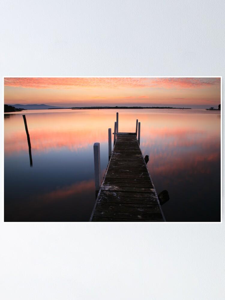Alternate view of A new day dawns, Mallacoota, Australia Poster