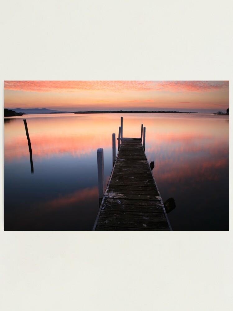 Alternate view of A new day dawns, Mallacoota, Australia Photographic Print
