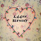 Stranger Things Birthday Card by Blackbird76