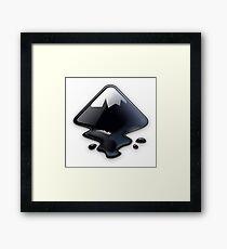 Inkscape Vector Graphics Editor Logo Framed Print