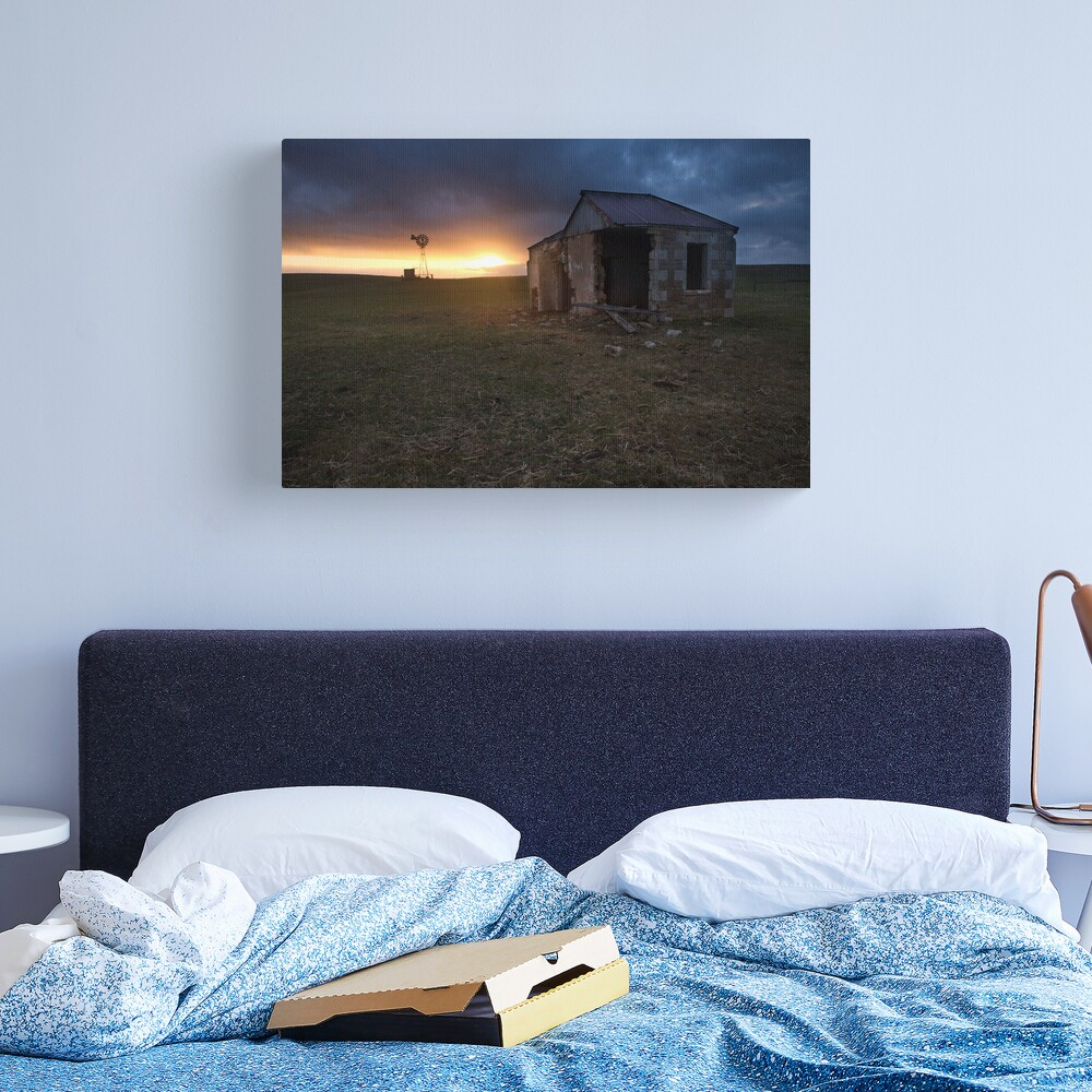 The Cattle Yard, South-Western Victoria, Australia Canvas Print