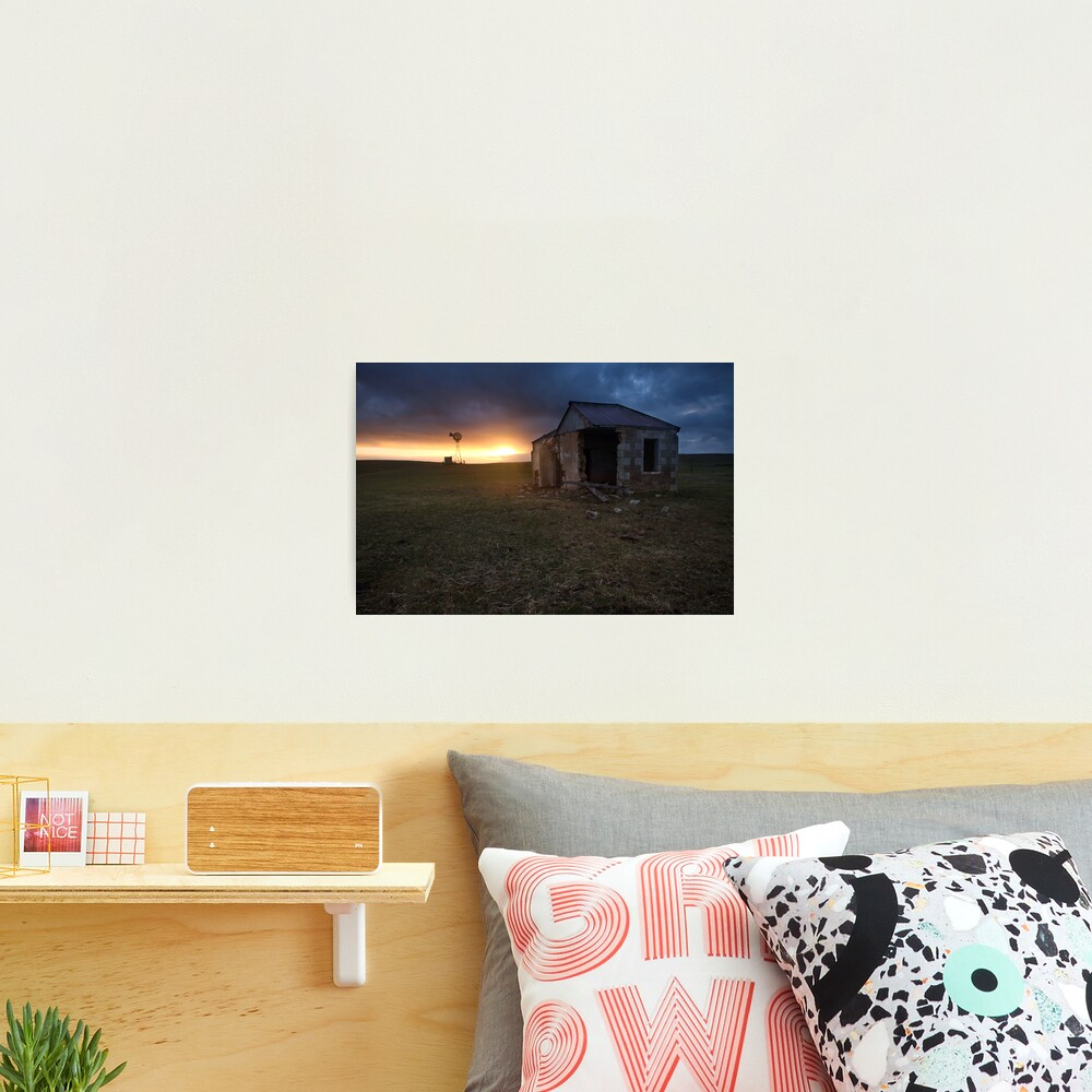 The Cattle Yard, South-Western Victoria, Australia Photographic Print