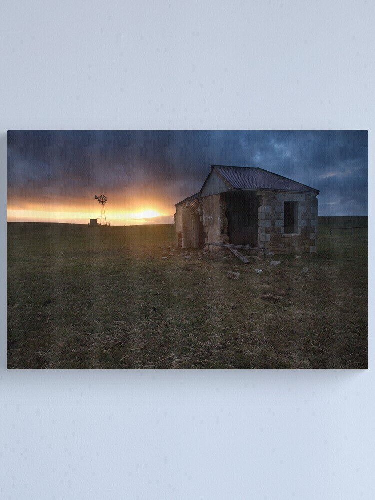 Alternate view of The Cattle Yard, South-Western Victoria, Australia Canvas Print