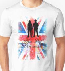 """Mrs. Peel - We're Needed!"" Unisex T-Shirt"