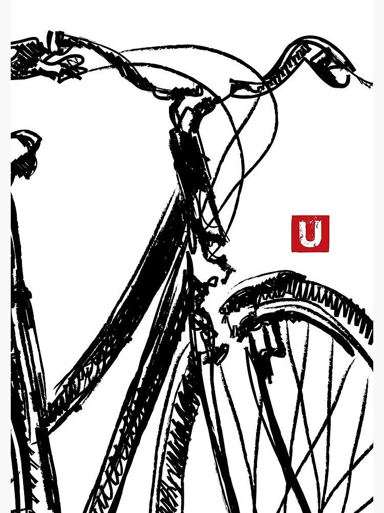 «UrbArt - Bike Sketch» par UrbArt