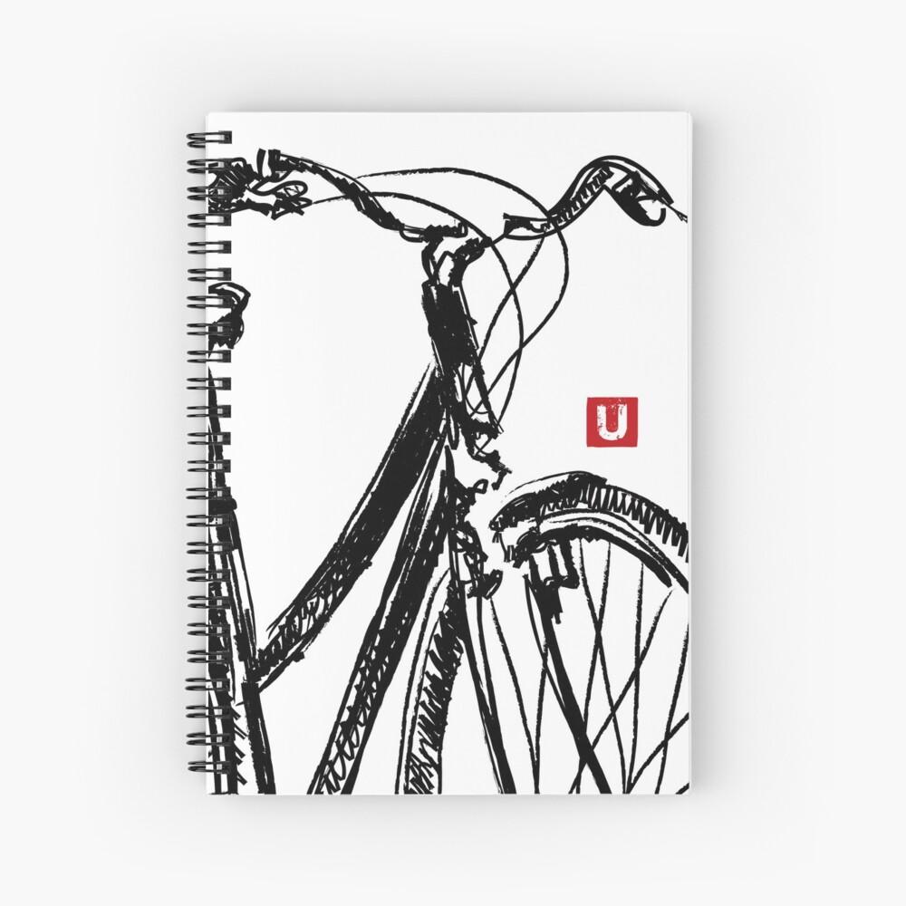 Cahier à spirale «UrbArt - Bike Sketch»