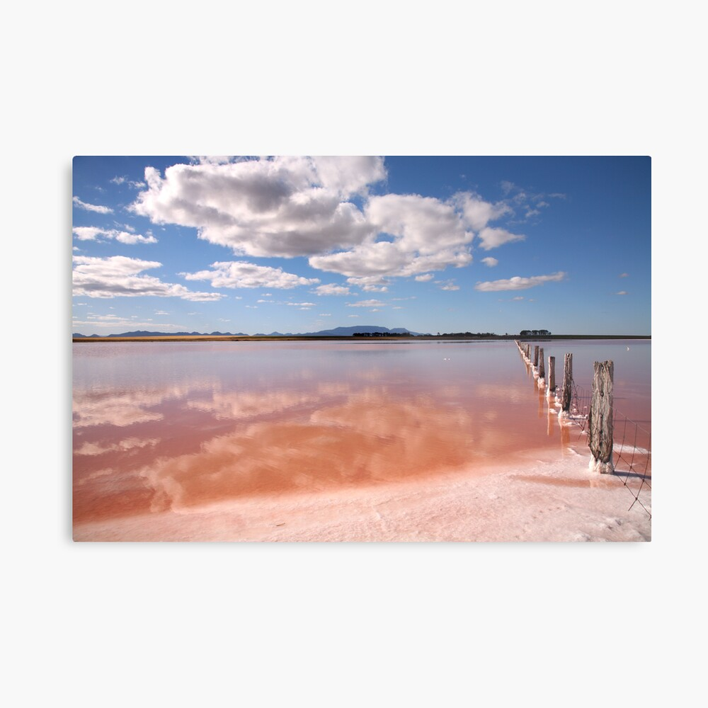 Salt Lake, South-Western Victoria, Australia Metal Print
