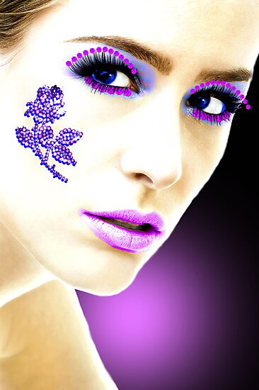 Kissed with sparkle by CheyenneLeslie Hurst