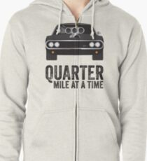Cinema Obscura Series - The Fast & the Furious - Quarter Mile Zipped Hoodie