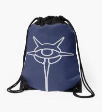 College of Winterhold · White Emblem Drawstring Bag