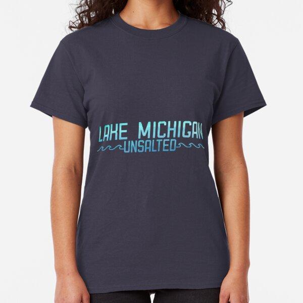 Michigan The Great Lakes State Pride USA Shirt Moose Elk Gift Womens T-Shirt