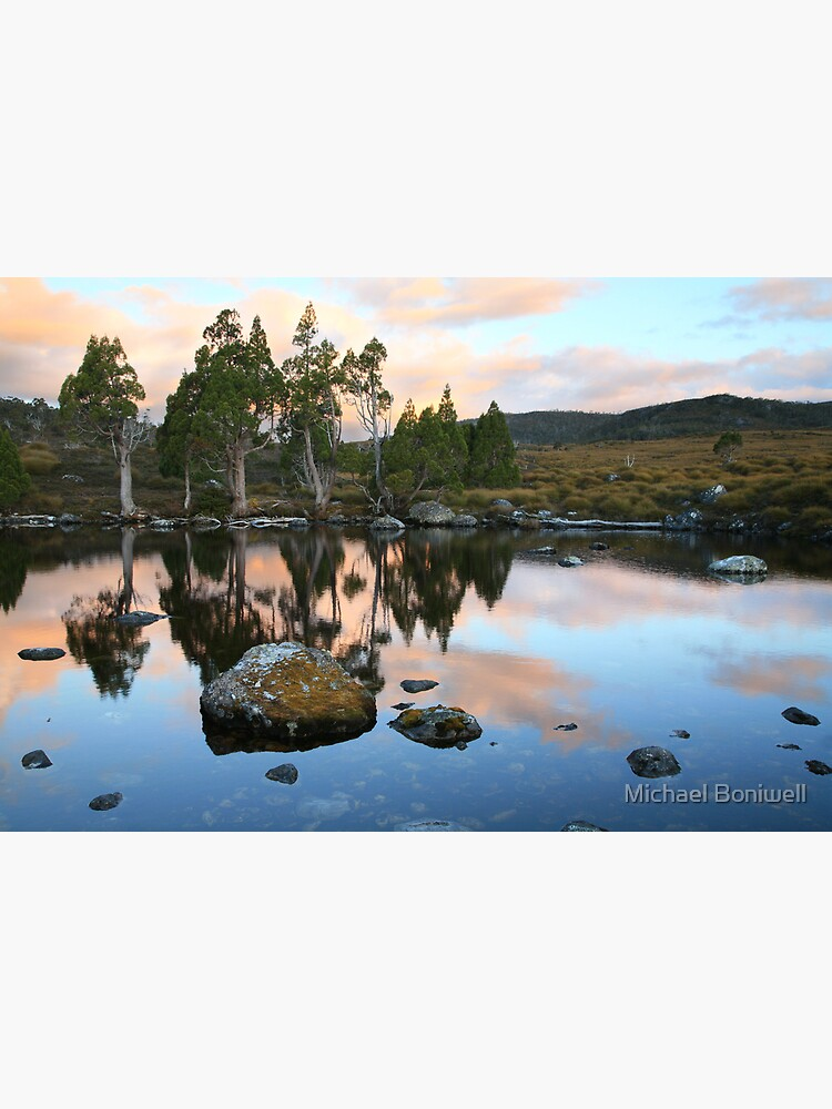 Tarn Reflections, Cradle Mountain National Park, Australia by Chockstone