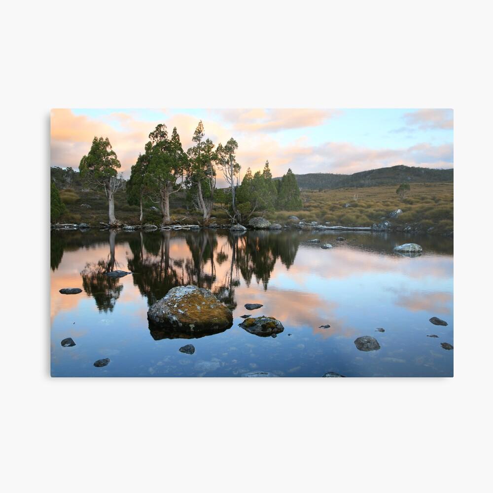 Tarn Reflections, Cradle Mountain National Park, Australia Metal Print