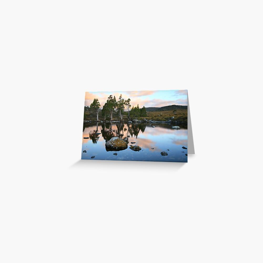 Tarn Reflections, Cradle Mountain National Park, Australia Greeting Card
